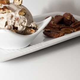 inSpiral recipe: Mulberry butterscotch with pecan frozen dessert